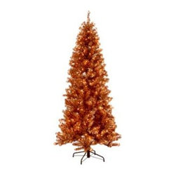 Paradise Champagne Tinsel Tree - CREATE A SPARKLING CENTERPIECE WITH THE PARADISE CHAMPAGNE TINSEL TREE