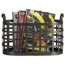 Contemporary Magazine Racks by Crate&Barrel