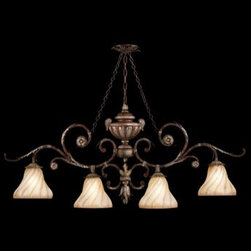 Fine Art Lamps - Fine Art Lamps Stile Bellagio 302240ST Four-Light 49'' Wide Grand Chandelier - Fine Art Lamps' artistic heritage began in the glass making factory founded by Max Blumberg in New York in the late nineteenth century. In 1940 his son Jack Blumberg gathered the finest designers sculptors and decorative artists to fulfill their vision of becoming the premier lighting manufacturer in the world and Fine Art Lamps was born. From the beginning Fine Art Lamps has achieved a high artistic standard by creating unique and original lighting designs of beautifully handcrafted metal hand-blown glass and other unique materials with exquisite hand applied finishes. In all Fine Art lamps represents the singular vision of over 700 skilled designers artists craftsman and associates working together in five plants totaling over 400000 square feet to create unique works of art for the international design community. An American Manufacturer with International AppealFine Art Lamps has a global market and universal design appeal. From its' Florida facilities Fine Art Lamps lighting travels to every corner of the world destined for the finest homes villas palaces hotels and public spaces.Fine Art Lamps has expertise in foreign wiring requirements covering every continent and customers rely upon the company's International Product Specification Brochure for accurate measurements weights and technical specifications.