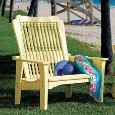 traditional outdoor chairs by Cottage & Bungalow