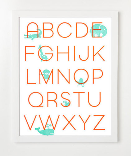 Contemporary Kids Wall Decor by Etsy