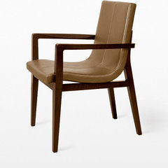 contemporary dining chairs and benches by Holly Hunt