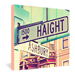 Shannon Clark Haight Ashbury Gallery Wrapped Canvas