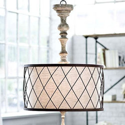 Antique Wood art and FLAX Shades Pendant Lighting - http://www.phxlightingshop.com/index.php?main_page=advanced_search_result&search_in_description=1&keyword=9729