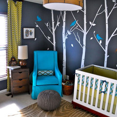 modern  Woodsy Modern Nursery