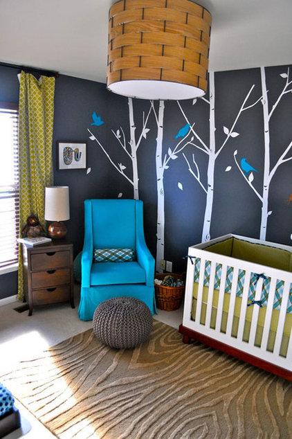 Modern  Woodsy Modern Nursery