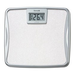 Taylor - Taylor Digital Bath Scale 330lb - Taylor Digital Bath Scale with Lithium Battery - 330 pound capacity in.2 lb. increments