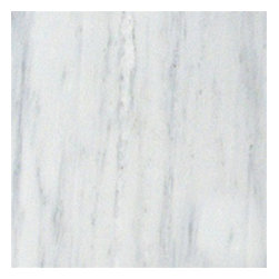 "Bianco Carrara Honed Marble Floor & Wall Tiles 18"" x 18"" - 18"" x 18"" Bianco Carrara Marble Floor and Wall Tile is a great way to enhance your decor with a traditional aesthetic touch. This polished tile is constructed from durable, impervious marble material, comes in a smooth, unglazed finish and is suitable for installation on floors, walls and countertops in commercial and residential spaces such as bathrooms and kitchens."