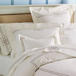 Ivory Hotel Bedding Duvet Cover
