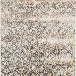 "Loloi Rugs - Loloi Rugs Elton Collection - Ivory / Multi, 3'-9"" x 5'-6"" - Designed to look like a modern version of yesterday's classics, the Elton Collection features intentionally distressed pattern that matches well with contemporary to transitional spaces. Elton is power loomed in Egypt of polypropylene and polyester for great durability and easy maintenance. Available in six sizes including a runner and a scatter."