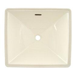 TOTO - Toto Legato Undercounter Lavatory Sink with SanaGloss, Sedona Beige (LT624G#12) - TOTO LT624G#12 Legato Undercounter Lavatory Sink with SanaGloss, Sedona Beige