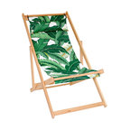 Gallant & Jones - Tahiti Deck Chair - Deck chair with Fabric Sling and Pillow