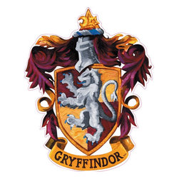 York Wallcoverings - Harry Potter Hogwarts House Crests 5pc Wall Accent Set - Features: