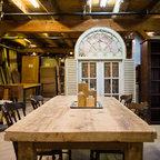 Custom Hemlock Dining Table -