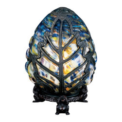 "Meyda Lighting - Meyda Lighting 22092 9""H Castle Egg Accent Lamp - Meyda Lighting 22092 9""H Castle Egg Accent Lamp"