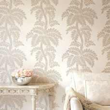 Contemporary Wallpaper by Thibaut