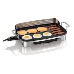 Hamilton Beach - Hamilton Beach Premiere Series - 220 square inch non-stick cooking surface