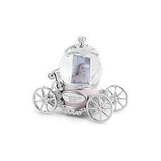 Traditional Kids Decor Princess Carriage Water Globe