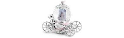 Traditional Kids Decor Princess Carriage Water Globe