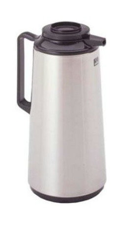 Bloomfield Industries - Thermal Beverage Server 1.9 Liter - Bloomfield stainless shell, glass lined hand-held brew-thru lid.