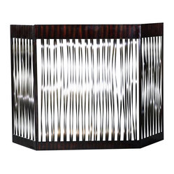 Zigzag Fireplace Screen