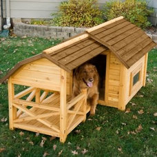 Lowest price of the Season! Barn Dog House - Dog Houses at Dog Houses