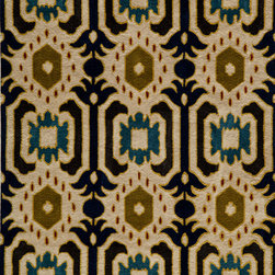 Momeni Rug - Momeni Rug Habitat 2' x 3' HB-01 Ivory HABITHB-01IVY2030 - Hand tufted by expert artisans, the Habitat Collection preserves authentic texture and feel. These rugs feature intriguing ethnic and nomadic motifs in fashion forward color palettes that add realism and charm to the home. With broad global influences, the Habitat Collection brings worldly sophistication into any home.