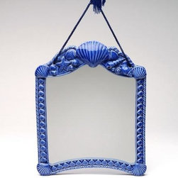 ATD - Meticulous Deep Blue Sea Shell Designed Decorative Wall Mirror - This gorgeous Meticulous Deep Blue Sea Shell Designed Decorative Wall Mirror has the finest details and highest quality you will find anywhere! Meticulous Deep Blue Sea Shell Designed Decorative Wall Mirror is truly remarkable.