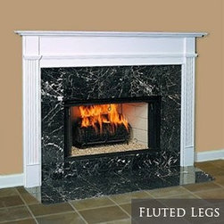 Somerset Wood Fireplace Mantel - Available in both standard and custom sizes, the Somerset wood mantel has traditional styling for a variety of spaces.