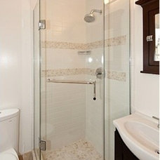 Modern Shower Doors by Dulles Glass and Mirror