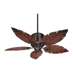 Savoy House - Savoy House 52-083-5RO-13 Portico Outdoor Ceiling Fan in English Bronze 52-083-5 - This sleek outdoor ceiling fan is perfect for flaunting your personality This fan features a classic English Bronze finish with unique Palm Leaf Blades and is UL Damp Location Certificatied.Blade Finish: Rosewood Blade Pitch: 14 Blades Included: Yes Collection: Portico Downrod Width: 1 2 Finish: English Bronze Height: 17 Number of Blades: 5 Outdoor: Yes Outdoor Listed: Yes Safety Rating: UL, CUL Style: Coastal Suggested Room Fit: Outdoor UL Wet Damp Location: UL Damp Location Voltage: 120 Weight: 22.27 Width: 9-3 5