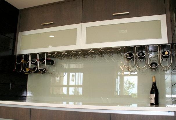 Modern Tile by Dreamwalls Glass