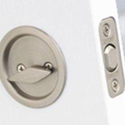 KWIKSET - 334 10B P/Door Passage Lock - Pocket Door Lock - Passage