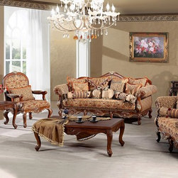 Madeleine - Luxury Living Room Sofa Set -