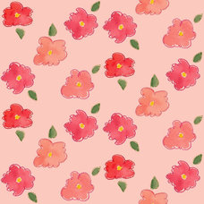 Contemporary Wallpaper by Spoonflower