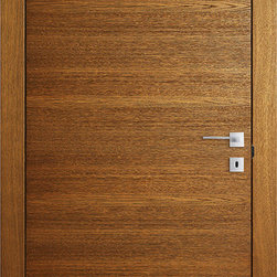 Modern and Traditional Designer Interior Doors by Le Porte di Barausse - Brandy On. Price include leaf, jambs, moldings, pivot hinges and magnetic lock