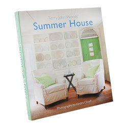 Summer House - Terry John Woods - A guidebook to creating a meaningful interior which is informal and easy to care for but not lacking in beauty, Summer House leads readers through a superb collection of photos that illustrate just what it means to relax in your home.  Paging through this book is a freeing experience as you dream of a vacation home you can't wait to visit again or apply the philosophy to your year-round abode.