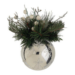 Silk Plants Direct - Silk Plants Direct Berry, Ball and Twig Decorated Ball Ornament (Pack of 12) - Pack of 12. Silk Plants Direct specializes in manufacturing, design and supply of the most life-like, premium quality artificial plants, trees, flowers, arrangements, topiaries and containers for home, office and commercial use. Our Berry, Ball and Twig Decorated Ball Ornament includes the following: