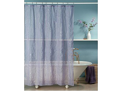 Essential Home Shower Curtain Classic Ivy Fabric
