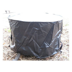 """Outdoor GreatRoom - Outdoor GreatRoom 42 in. Round Vinyl Fire Table Cover Multicolor - CVR-CF42 - Shop for Accessories and Parts from Hayneedle.com! The Outdoor GreatRoom 42 in. Round Vinyl Fire Table Cover safeguards the latest addition to your outdoor living area from the roughest weather conditions. This ultra-durable black vinyl cover is designed to fit all of Outdoor GreatRoom's 42-inch diameter tables. It's easy to secure into place and folds away easily when the fire pit or table is in use. Don't leave your lovely new table out in the rain sleet and snow - protect it with the 3lb round table cover by Outdoor Greatroom.About Outdoor GreatRoom CompanyWith over 50 patents to its name the Outdoor GreatRoom Company is one of the most innovative names in gas fireplaces and outdoor design period. Since 1975 Dan Ron Steve and Ger have produced a yard of amazing products like the Heat-N-Glo that have changed the industry. In fact they want to change the way you think about your backyard or patio. It's about bringing the luxury and comfort of the living room outside to make an """"Outdoor Room."""" They want you to literally think outside the box. To make that beautiful concept a reality Outdoor GreatRoom designs manufactures and sells pergolas outdoor kitchens grills outdoor furniture fireplaces fire pits lighting and heating products. There's no better name in outdoor leisure than this fine Minnesotan company."""
