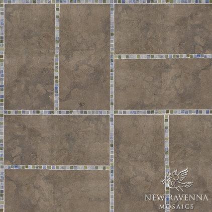 Contemporary Floor Tiles by New Ravenna Mosaics