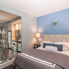 Contemporary Bedroom by Kalli George Interiors