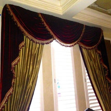 Traditional Curtains by Curtain Pros