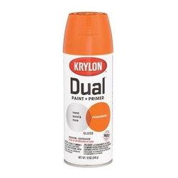 DIVERSIFIED BRANDS KRYLON - 8815 12Oz SP Mandarin Dual Paint - Krylon(R) Dual Paint + Primer Aerosol