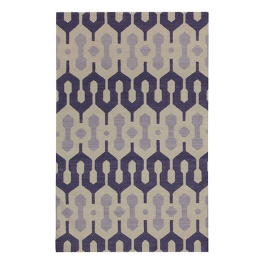 L'Alhambra rug in Mulberry Lilac -