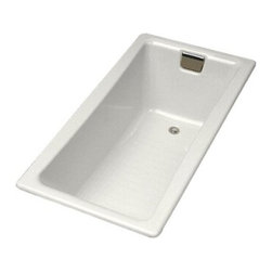 KOHLER - KOHLER K-850-0 Tea-for-Two 5' Bath - KOHLER K-850-0 Tea-for-Two 5' Bath in White