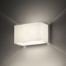 Block Wall Sconce by Leucos | 10BLOCKP14WHT