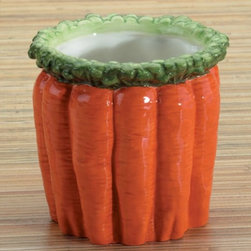 Summit - Carrot Stick Holder Collectible Vegetable Ceramic Glass Container - This gorgeous Carrot Stick Holder Collectible Vegetable Ceramic Glass Container has the finest details and highest quality you will find anywhere! Carrot Stick Holder Collectible Vegetable Ceramic Glass Container is truly remarkable.