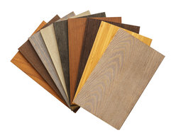 """Stikwood - Sustainable Wood Sample Set - Included is 9-8 x 5"""" sample piece of:"""