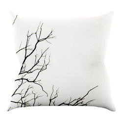 "Kess InHouse - Skye Zambrana 'Winter' Throw Pillow, 16"" x 16"" - Rest among the art you love. Transform your hang out room into a hip gallery, that's also comfortable. With this pillow you can create an environment that reflects your unique style. It's amazing what a throw pillow can do to complete a room. (Kess InHouse is not responsible for pillow fighting that may occur as the result of creative stimulation)."
